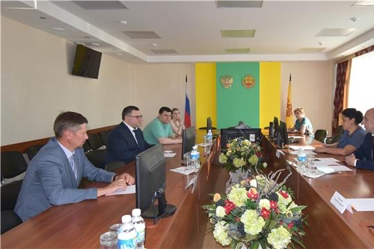 Встреча с руководителем Центральной научно-методической ветеринарной лаборатории Романом Рыбиным