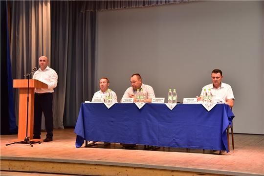 Ибресинский район посетили Сергей Артамонов и Сергей Павлов