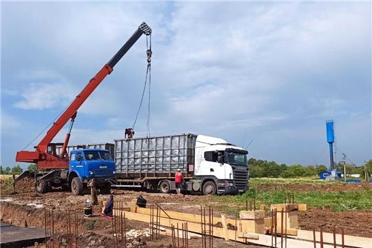 Новочурашевский молочный завод строит очистные сооружения