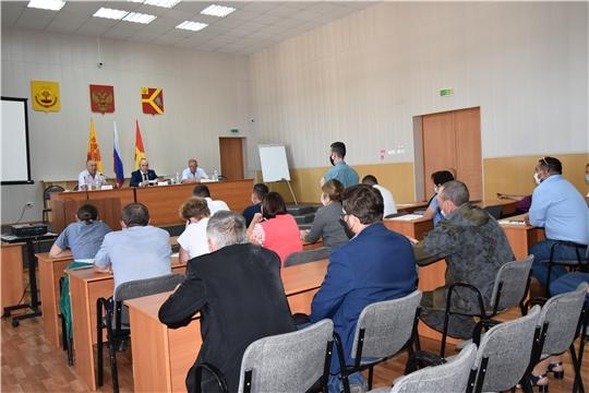 Встречи с жителями Аликовского и Красноармейского районов