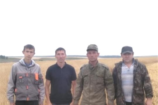 Фермер Николай Ястребов первым в Ибресинском районе завершил уборку зерновых