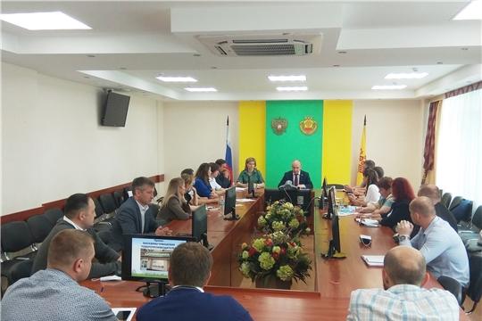 Совещание по вопросу продвижения на рынки продукции чувашских товаропроизводителей