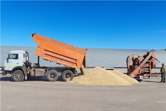 На 31 августа в республике собрано 660 тыс. тонн зерна
