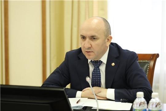 Поздравление Сергея Артамонова со 100 -летием Чувашпотребсоюза