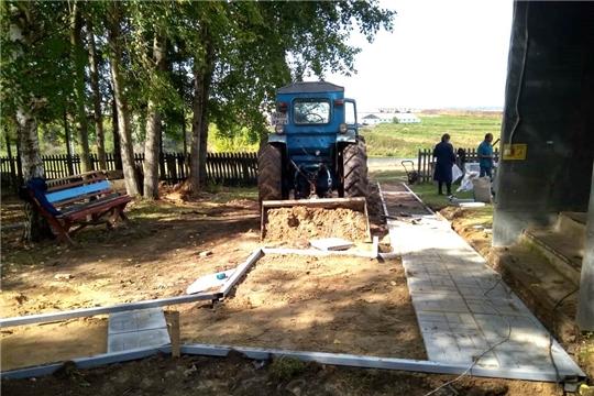 В деревне Малдыкасы Вурнарского района решили благоустроить памятник павшим воинам