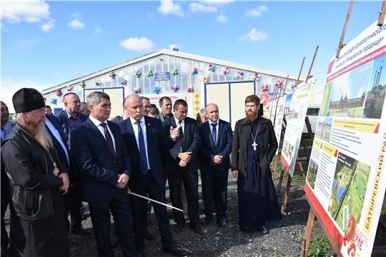 Олег Николаев утвердил создание агропарка в Батыревском районе