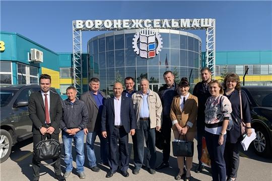 Проектные решения реконструкции Канашского элеватора обсуждены с коллегами из Воронежа
