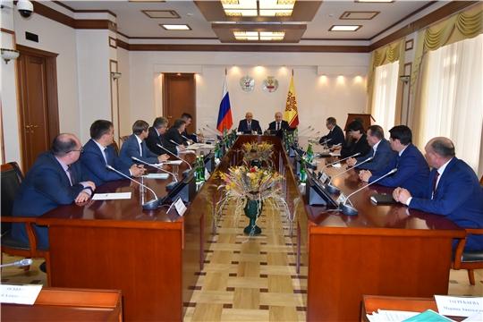 Джамбулат Хатуов провел совещание по вопросам развития агропромышленного комплекса Чувашской Республики