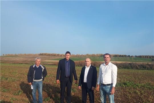 Сергей Артамонов ознакомился с ходом уборочных работ в крестьянско-фермерских хозяйствах