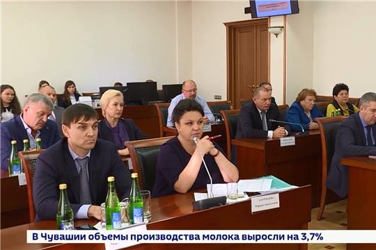 Минсельхоз Чувашии- республика по многим показателям находится в передовиках среди российских регион