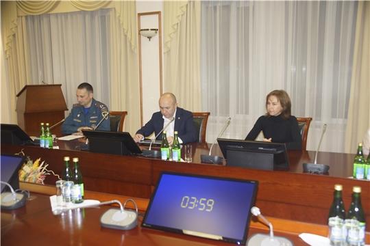 Министерство сельского хозяйства  Чувашской Республики принимает участие в штабной тренировке по гражданской обороне