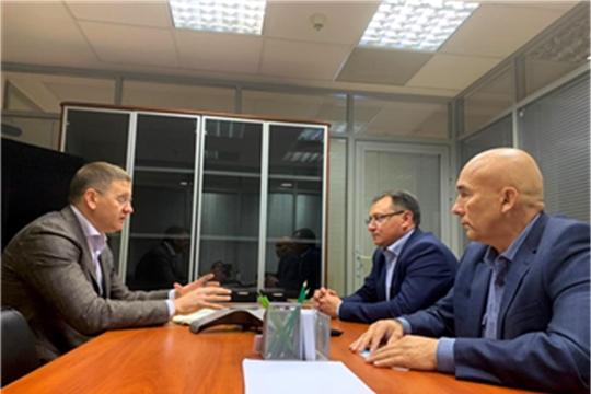 """С руководством АО """"Росагролизинг"""" обсуждены вопросы реализации проекта реконструкции Канашского элеватора"""