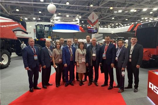 Минсельхоз Чувашии  подписал соглашения с ведущими предприятиями агропромышленного комплекса на «АГРОСАЛОН 2020»