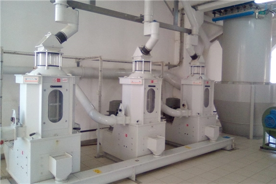 На Алатырском комбикормовом заводе запущена линия шелушения ячменя