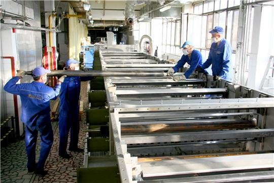 На кондитерской фабрике «АККОНД» идет монтаж дополнительной бисквитной линии