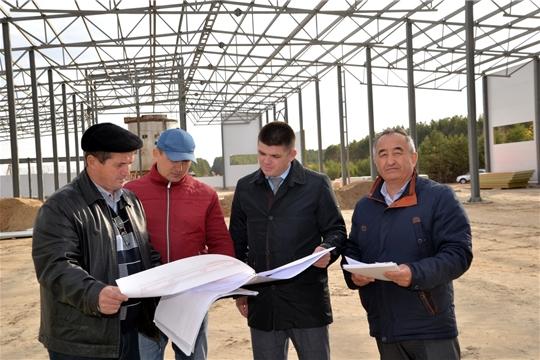 В Батыревском районе строятся новые объекты в сельскохозяйственной отрасли
