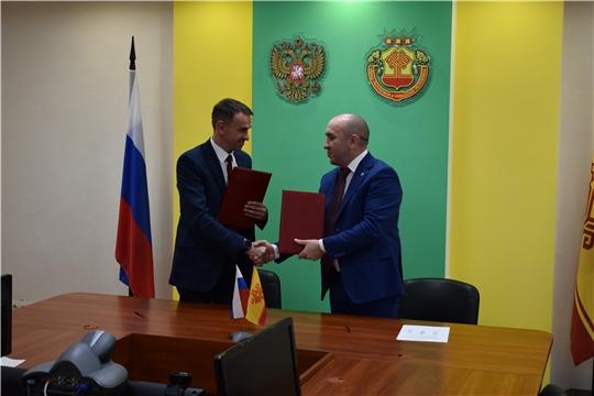 Подписано Соглашение о сотрудничестве между Министерством сельского хозяйства Чувашской Республики и ООО «Воронежсельмаш»