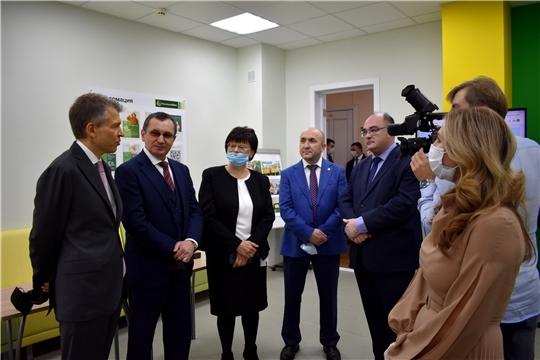 В Чувашском ГАУ представили специализированную аудиторию  «Учебный банк»