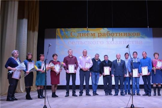 Аграрии Вурнарского района отметили свой профессиональный праздник