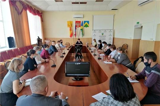 В Чувашии дан старт Всероссийскому проекту «Свое дело в селе - смело!». На видеосвязи - Комсомольский район