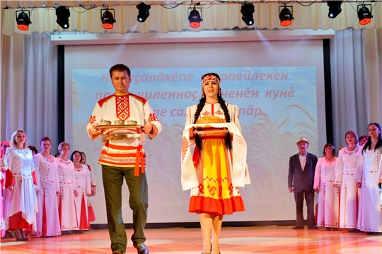 В Яльчикском районе отметили День работника сельского хозяйства и перерабатывающей промышленности