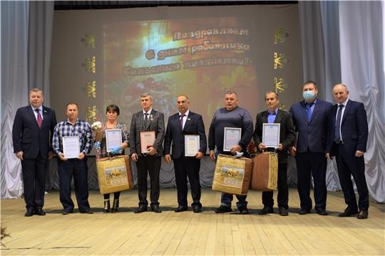 В Красночетайском районе состоялось чествование лучших тружеников сельского хозяйства и перерабатывающей промышленности