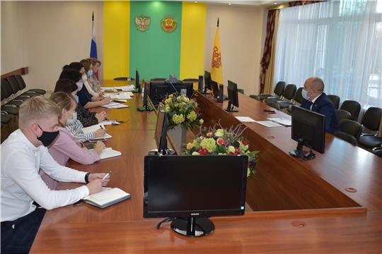 В Минсельхозе Чувашии обсудили реализацию государственной программы  «Комплексное развитие сельских территорий Чувашской Республики»