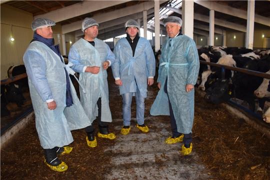 В Батыревском районе проверяется готовность животноводческих помещений к зимнему стойловому содержанию