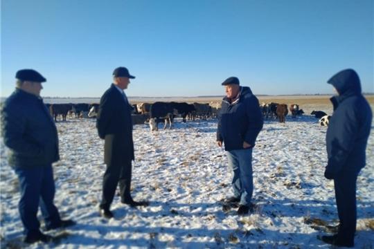 Руководство района с рабочим визитом посетило Шихабыловское сельское поселение