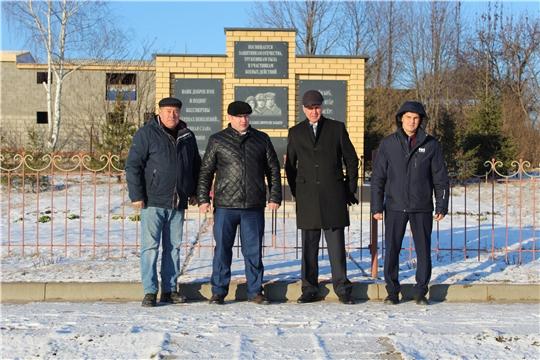 Руководство Урмарского района с рабочим визитом посетило Шихабыловское сельское поселение