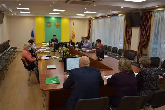 Заседание балансовой комиссии по итогам работы за 9 месяцев 2020 года