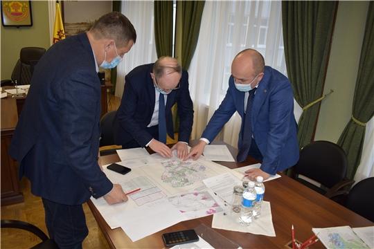 Рабочее совещание с администрацией Красночетайского района и ООО «Воддорстрой» по вопросу необрабатываемых земель