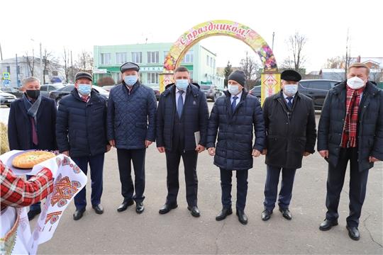 Труженики села Комсомольского района отметили праздник, посвященный Дню работника сельского хозяйства и перерабатывающей промышленности