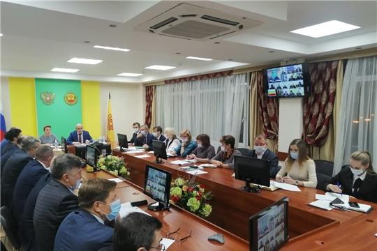 Сергей Артамонов в режиме ВКС провел совещание с  главами муниципалитетов и руководителями структурных подразделений Минсельхоза Чувашии