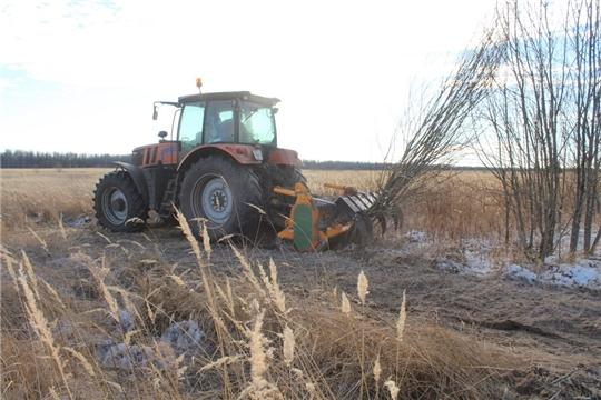 В Цивильском районе продолжается работа по вводу в оборот необрабатываемых земель сельскохозяйственного назначения