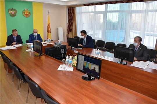 Заседание межведомственной рабочей группы по координации работ по организации функционирования и развитию аппаратно-программного комплекса технических средств «Безопасный город» в ЧР