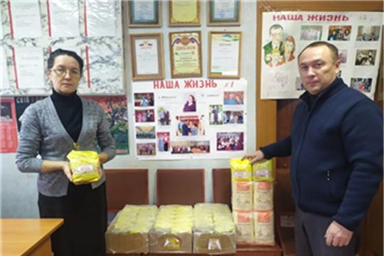 Коллектив АО «Чувашхлебопродукт» включился в благотворительную акцию «Щедрый вторник»