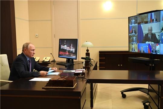 Дмитрий Патрушев доложил Президенту РФ о текущей ситуации в АПК