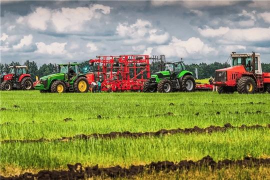 Аграрии Чувашии за два года втрое увеличили количество приобретенной сельхозтехники