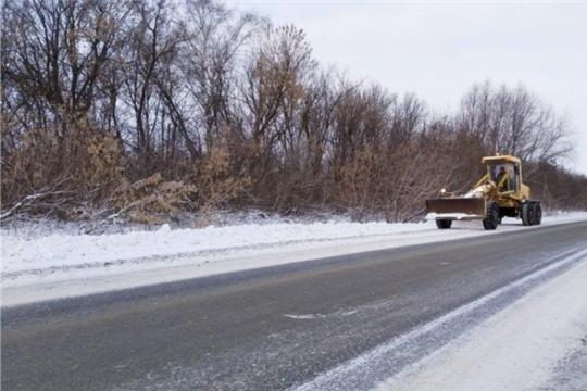 Зимнее содержание республиканских дорог под постоянным контролем
