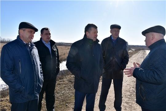 И.о. министра транспорта и дорожного хозяйства Чувашской Республики Владимир Осипов с рабочим визитом посетил Моргаушский район