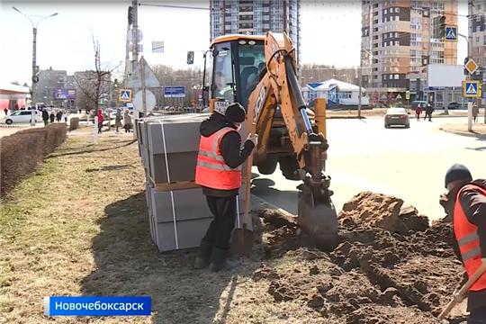 Ремонт дорог Чебоксар в рамках нацпроекта завершат в июне (ГТРК Чувашия)
