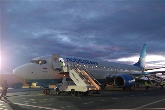Авиакомпания «Победа» возобновила полеты в Чебоксары