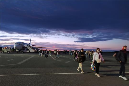 В Чебоксарском аэропорту возобновили рейс Чебоксары-Москва (ГТРК «Чувашия»)