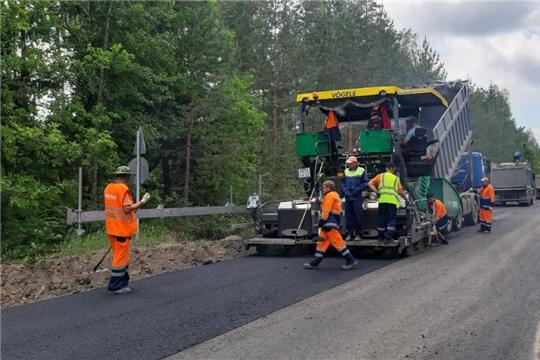 В регионе дорожно-строительные работы в рамках нацпроекта вошли в активную фазу и проводятся по новым технологиям