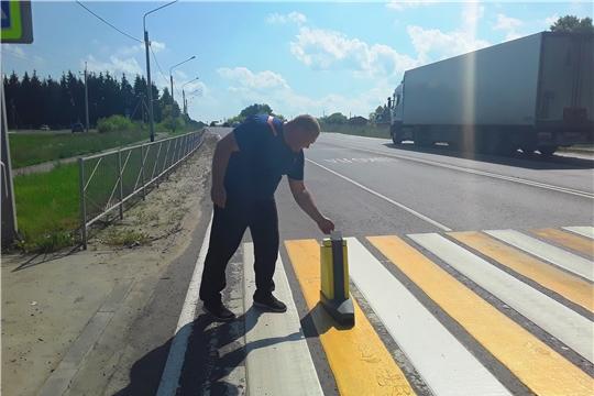 Завершился первый этап работ по нанесению дорожной разметки на региональных дорогах