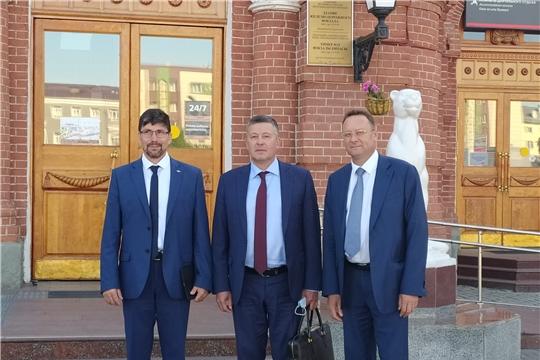 Министр транспорта и дорожного хозяйства Чувашской Республики ознакомился с объектами железнодорожной инфраструктуры столицы Татарстана