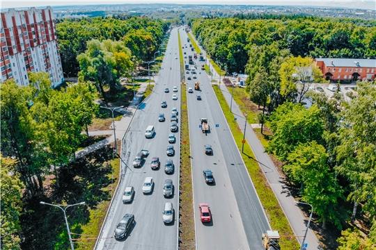 Работы по реконструкции проспекта Ивана Яковлева г. Чебоксары завершатся в августе