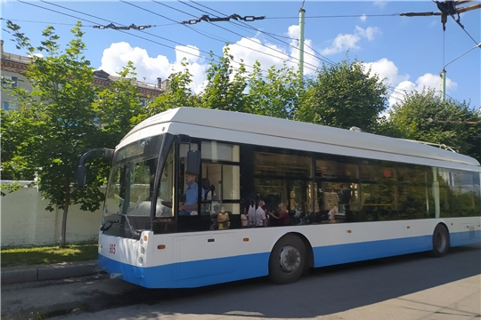 Пресс тур в Чебоксарское троллейбусное управление