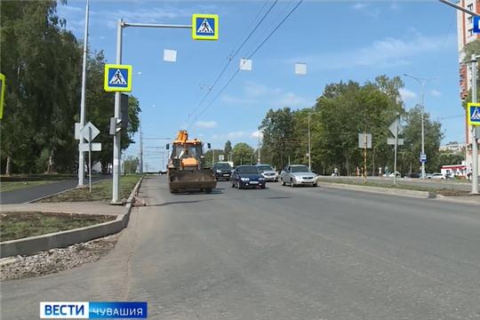 74 % чебоксарских дорог к 22-му году будут соответствовать нормативам